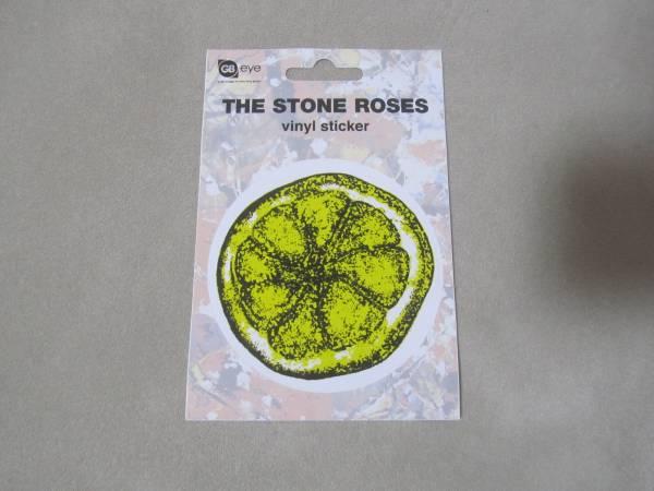 新品・THE STONE ROSES ザ ストーンローゼズ/ステッカー(レモン)最安送料82円