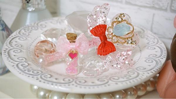 ◆Rose Lapin◆ミニスウィーツドール/オビツ11◆バレンタインドレス5点set◆_画像3