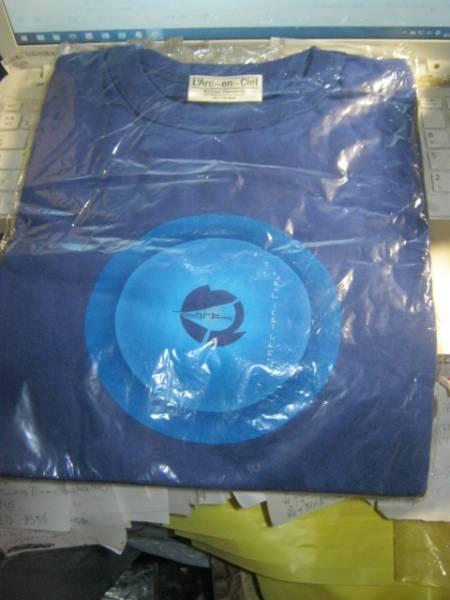 L'Arc-en-Ciel ラルクアンシエル / ARK 非売品Tシャツ 未開封 HYDE TETSU KEN SAKURA 黒夢 D'ERLANGER X JAPAN LUNA SEA Ki/oon Records