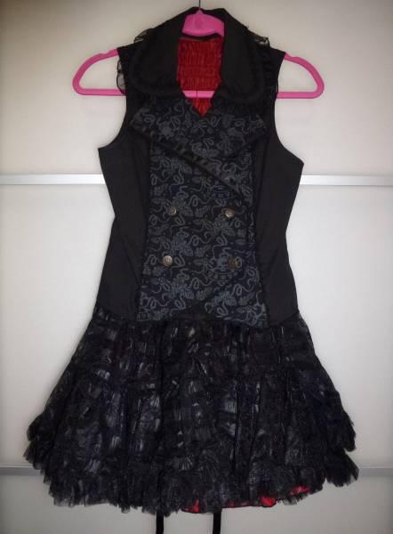VAMPS☆HALLOWEEN PARTY 2011☆DEVIL GIRL DRESS デビルガールドレス☆美品
