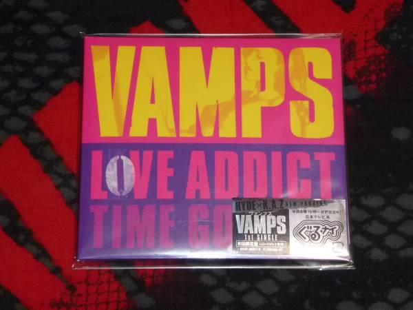 VAMPS☆1st SINGL LOVE ADDICT☆初回CD+DVD☆美品(未開封?)
