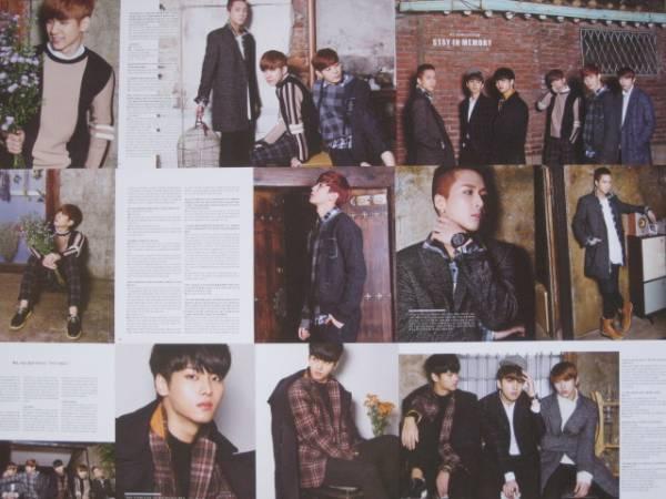 VIXX 2014年韓国雑誌切り抜き30ページ ライブグッズの画像