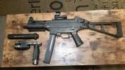 レア!ハードリコイルVFC UMP45 ガスマシンガンJP使用DXバージョン 試射のみ美品