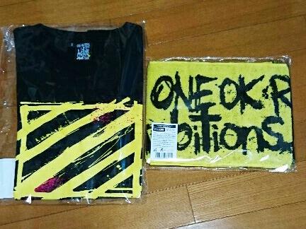 【最新!】ONE OK ROCK*2017*AmbitionsJAPAN TOUR*Tシャツ・タオル*セット*ワンオク*新品