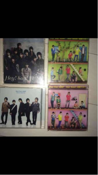 Hey!Say!JUMP CD DVD4枚セット