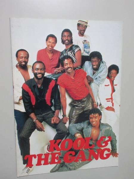 「クール・アンド・ザ・ギャング Kool & the Gang コンサートツアー パンフレット」
