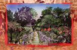 ネイト・ジョルジオ 超大作!原画 油絵 30号 『ノクターン・庭園』 2月26日日曜日終了 絵画 アメリカ 人気作家 関連:マイケル・ジャクソン