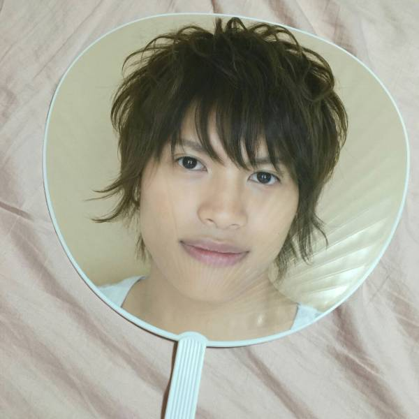 【袋なし】ジャニーズWEST 中間淳太 団扇 うちわ Jr.時代 2008夏