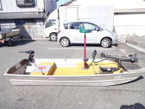 【アルミボート】一式 10F 船検要らず フットエレキ:モーターガイドF43V ハンドエレキ:ミンコタENDOURA30_画像3