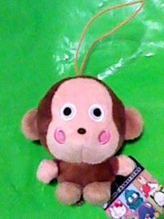 おさるのもんきち ファンシーマスコット 10cmぬいぐるみ グッズの画像