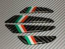 ドアガード ドアプロテクター エッジガード イタリア フィアット アバルト 500 カーボン調 ブラック