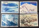 雪山の切手★ニセコアンヌプリ★深入山★立山★北岳と甲斐駒ヶ岳