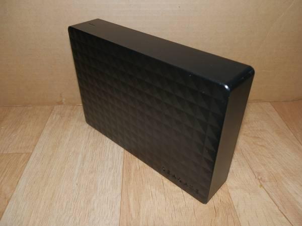 ◆USB3.0接続ハードディスクケース(Seagate SGD-TV020BK の抜け殻です)3.5インチHDDケース