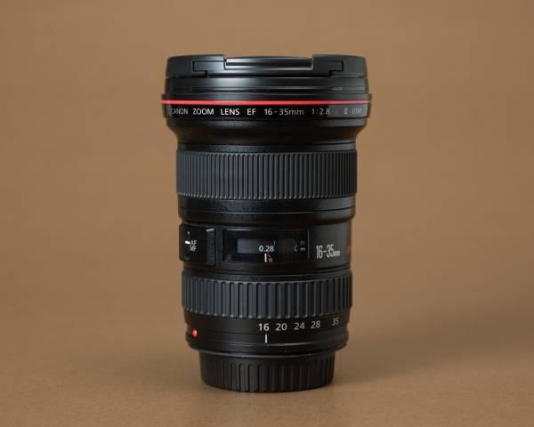 ☆1円~売り切り☆ Canon キヤノン EF16-35mm f/2.8 L Ⅱ USM (高価PLフィルター付き)