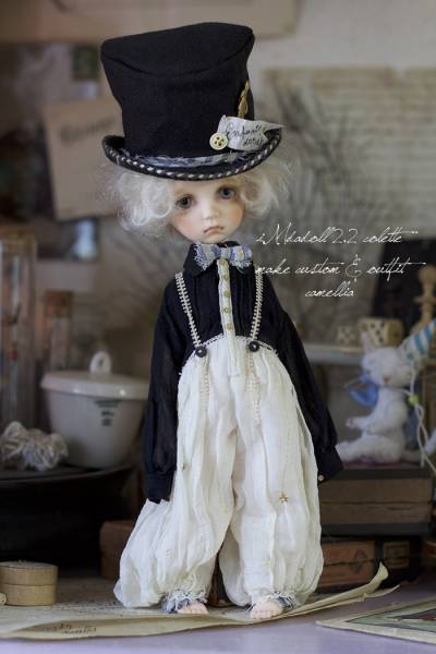 iMdadoll 2.2 colette(normal skin) camellia 本体+outfit