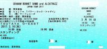 ◆GRAHAM BONNET/ALCATRAZZ◆3.16(木) 東京◆320番~◆グラハムボネット♪