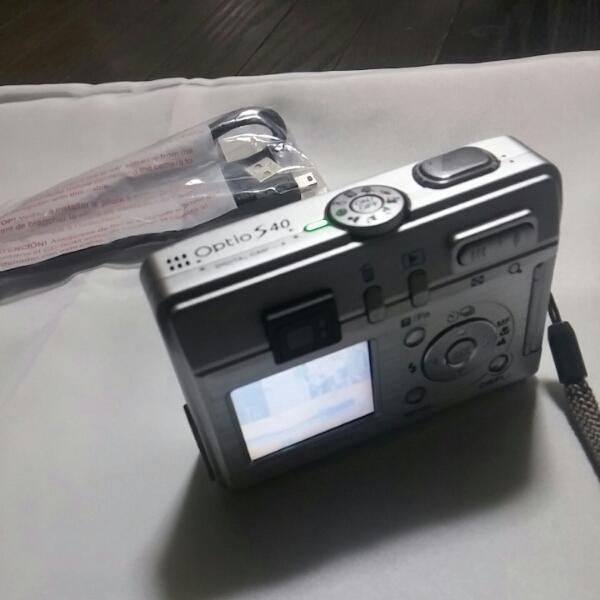 PENTAX Optio S40 電池使用 デジタルカメラ動作品