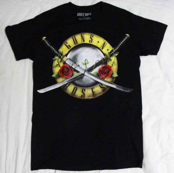 ガンズアンドローゼズ GUNS N' ROSES ツアー日本限定Tシャツ【S】 ライブグッズの画像