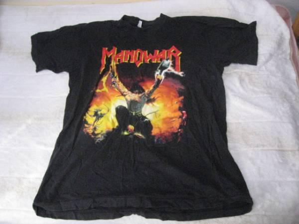 マノウォー MANOWAR Tシャツ Lサイズ