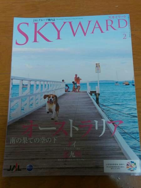 SKY WARD 2011年 2月号 嵐 大野智 JAL機内誌