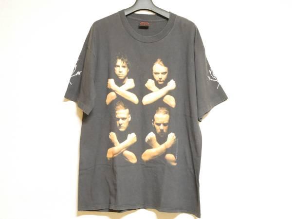 1992年製 METALLICA Tシャツ L メタリカ FEAR OF GOD FOG フィアオブゴッド フォグ ジャスティン VINTAGE ビンテージ BROCKUM TOUR ツアー ライブグッズの画像
