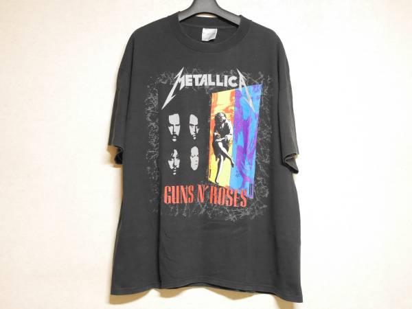 1992年製 METALLICA GUNS N' ROSES ツアーTシャツ XL メタリカ ガンズ アンド ローゼス FEAR OF GOD FOG フィアオブゴッド フォグ JUSTIN