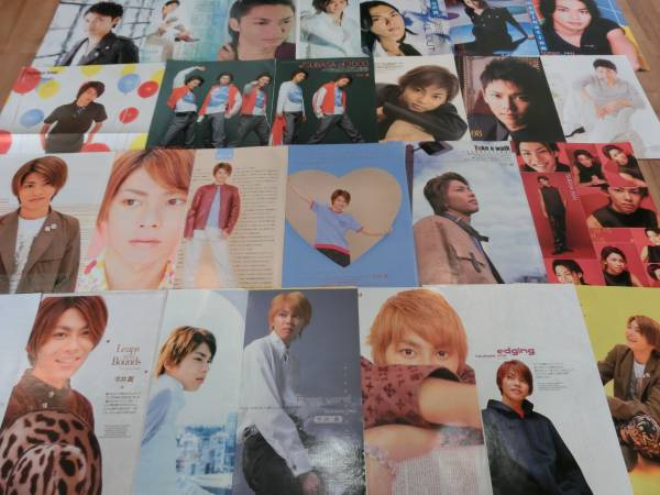 【貴重】今井翼 切り抜き大301P、小57枚、ピンナップ1枚 10~15年前中心/タッキー&翼 コンサートグッズの画像