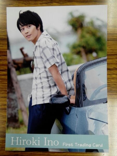 【猪野広樹】トレカ発売記念イベント/生写真②