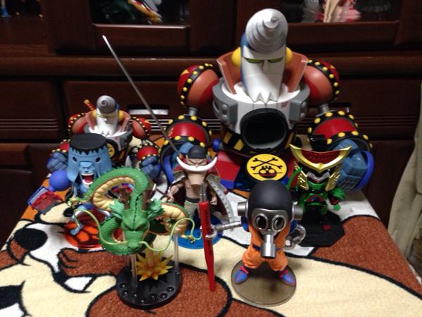 ワンピース ドラゴンボールZ 劇場版 仮面ライダー 進撃の巨人 GIGA MEGA WCF ワールドコレクタブルフィギュア 新品 13種セット 希少 激レア