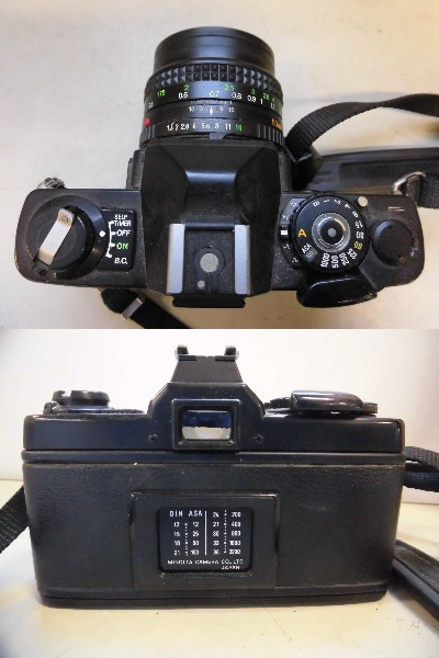 現状品 minolta XG-E 2/14 カメラMF_画像3