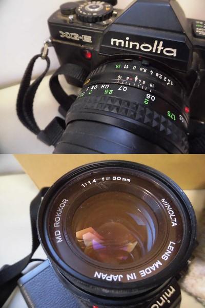現状品 minolta XG-E 2/14 カメラMF_画像2