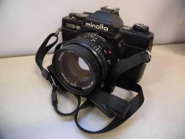 現状品 minolta XG-E 2/14 カメラMF