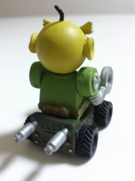 百獣大戦グレートアニマルカイザー 闘獣録 ミニフィギュア 激レア G3-ロボ ビッガーカードキャラ 高さ約4cm_画像2