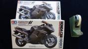 新品 タミヤ 1/12オートバイS№70 ホンダCBR1100XXスーパーブラックバード 2個
