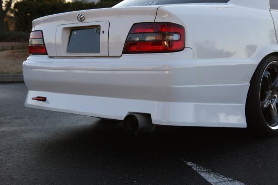 トヨタ JZX100 チェイサー 後期用 日本製フルエアロ3点セット フロントバンパー+サイドステップ+リアバンパー ドリフト STANCE_画像3