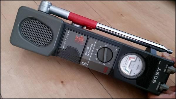 SONY CB無線機 ICB-87R 500mW 8ch ⑫