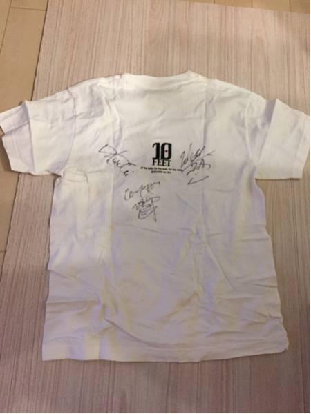 10-FEET メンバー全員サイン入り Tシャツ☆ ライブグッズの画像