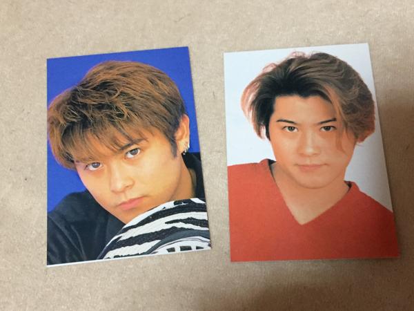 TOKIO 山口達也 カード 二枚