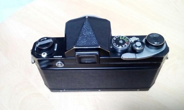 ニコン Nikon F 初期型 NIKKOR -S AUTO 1:2 f=5cm 付き_画像2