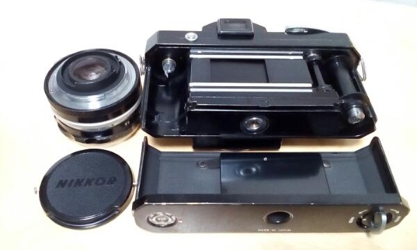 ニコン Nikon F 初期型 NIKKOR -S AUTO 1:2 f=5cm 付き_画像3