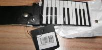 allneedful - とりあえずタグ付 新品ピアノ バックル ベルト バンド 黒 即決 小さな傷み等有