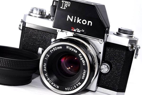 美品♪★ブラック★NIKON ニコン F フォトミック FTN + Nikkor-H 50mm f2★