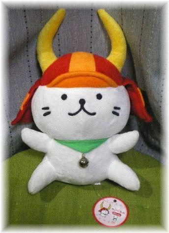 滋賀県ゆるキャラ☆ひこにゃん ぬいぐるみ30cm☆彦根城猫ねこ☆ グッズの画像