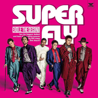 EXILE THE SECOND SUPER FLY 特典ステッカー付き