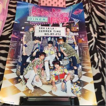 キスマイ Kis-My-Ft2 CD特典ポスター①