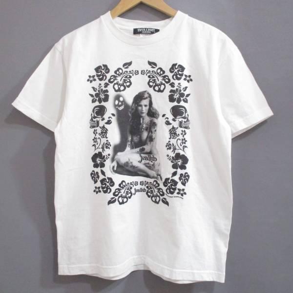 【スカルシット×jealkb】ジュアルケービー◆2009/SAKAKIBARA NO IKU/Tシャツ◆M