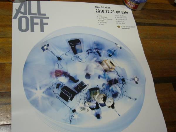 貴重レア B2大 ポスター ALL OFF / Re:sound