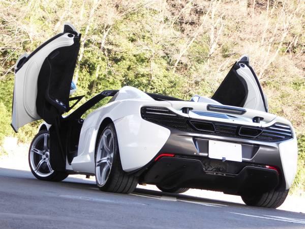 ◆マクラーレン650S◆【スパイダー】V8/ツインターボ/車検付き♪_画像2