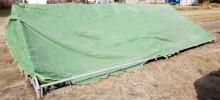 ◆引取限定◆仮設テント 大型 パイプテント アウトドアテント イベント用テント 運動会葬式集会催事テント ※引取限定です!!※