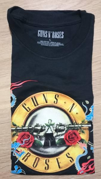 """ガンズアンドローゼズ Guns N' Roses """"DRAGON 28TH-TOKYO"""" ドラゴン 埼玉 1/28限定 新品 未着用 Tシャツ Lサイズ ライブグッズの画像"""